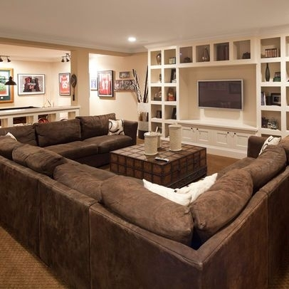 Large U Shaped Sectional (Image 5 of 10)