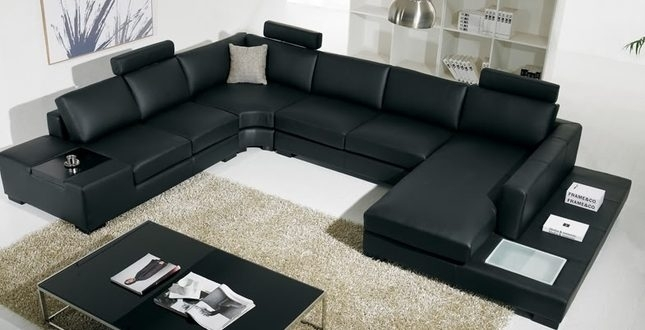 Large U Shaped Sectional Sofas – Home And Textiles Throughout Modern U Shaped Sectional Sofas (Image 2 of 10)