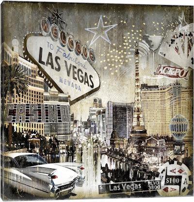 Las Vegas Canvas Prints — Icanvas Regarding Las Vegas Canvas Wall Art (Image 11 of 20)