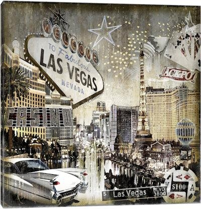 Las Vegas Canvas Prints — Icanvas Regarding Las Vegas Canvas Wall Art (View 5 of 20)