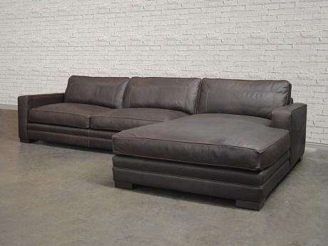 Las Vegas Leather Sectional Sofa – Top Grain, Aniline Within Las Vegas Sectional Sofas (Image 3 of 10)