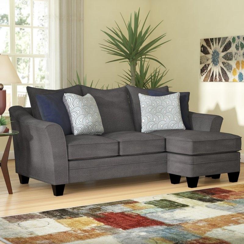 Latitude Run Teri Reversible Sectional & Reviews | Wayfair In Macon Ga Sectional Sofas (Image 10 of 10)