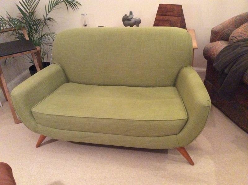 Laura Ashley Colinton Small 2 Seater Sofa/love Seat, Midcentury Regarding Small 2 Seater Sofas (Image 8 of 10)