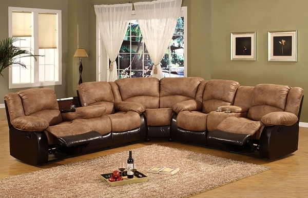 Lazy Boy L Shaped Couch Lazy Boy Sectional Reviews Brown Chairs With Within Sectional Sofas At Lazy Boy (Image 7 of 10)