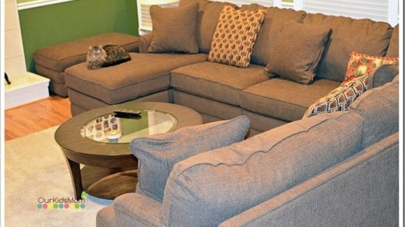 Lazy Boy Sectional Sofa Modern Casual Six Piece Reclining With Las Inside Lazyboy Sectional Sofas (Photo 10 of 10)