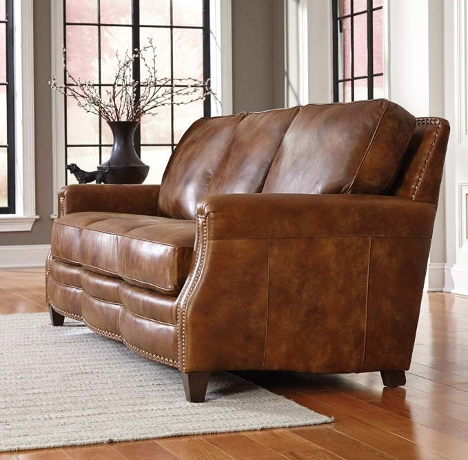 Learn About Leather With Bennett's Home Furnishings's Leather Buying In Aniline Leather Sofas (Image 10 of 10)