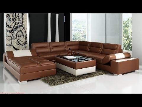 Leather Corner Sofas | Corner Sofas Leather – Youtube With Regard To Leather Corner Sofas (Image 4 of 10)