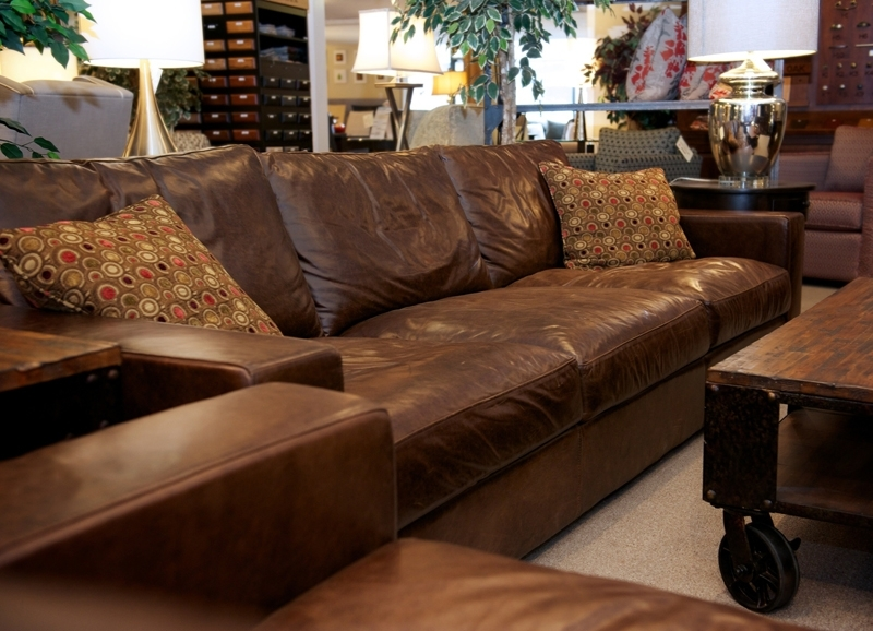 Leather Furniture Loft At Joshua Creek Trading, Oakville With Regard To Oakville Sectional Sofas (View 6 of 10)