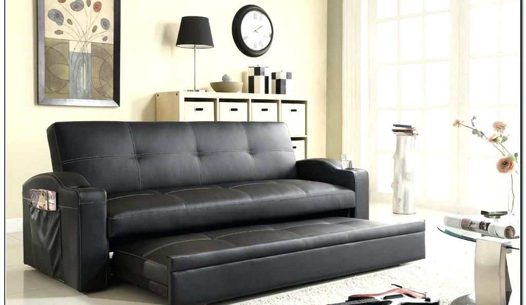 Leather Pull Out Couch Hide A Bed Chair Oversized Sleeper Chair And Throughout Pull Out Sofa Chairs (View 4 of 10)