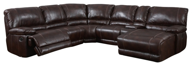 Leather Sectional Couches (Image 5 of 10)
