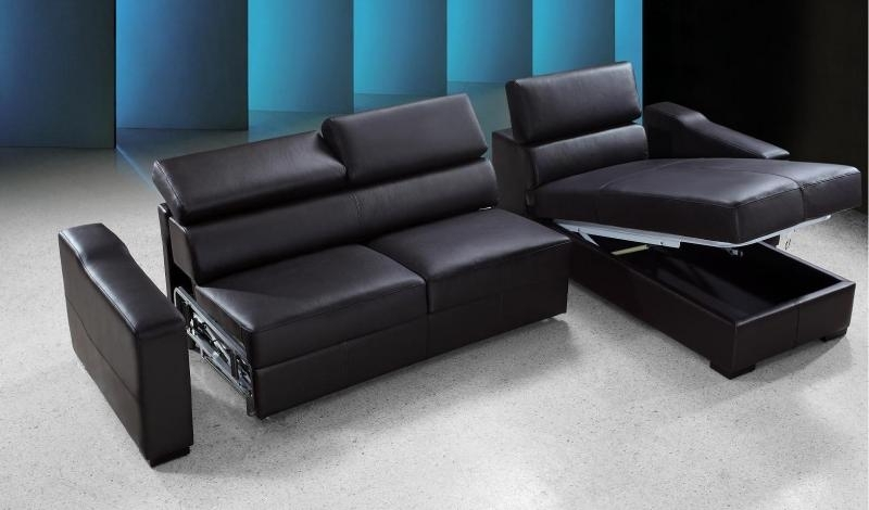Leather Sectional Sofa Bed Edmonton | Conceptstructuresllc For Sectional Sofas At Edmonton (View 5 of 10)