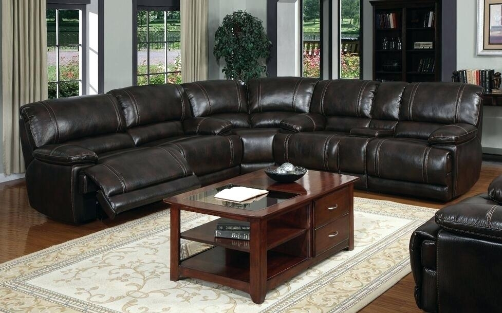 Leather Sectional Sofa With Power Recliner – Brightmind Within Sectional Sofas With Power Recliners (View 9 of 10)