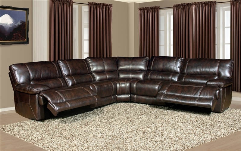 Leather Sectional Sofa With Power Recliner – Radiovannes Inside Sectional Sofas With Power Recliners (View 4 of 10)