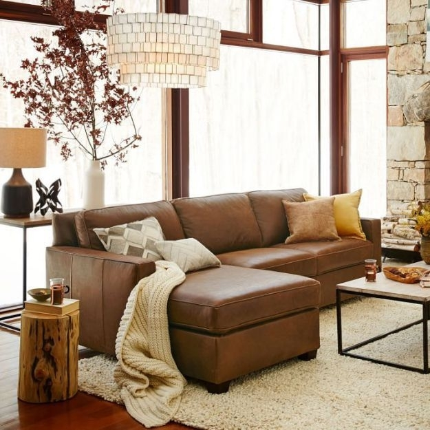 Leather Sofa Decorating Ideas Simply Simple Photo On Eaafdebeccfc In Leather Lounge Sofas (View 6 of 10)