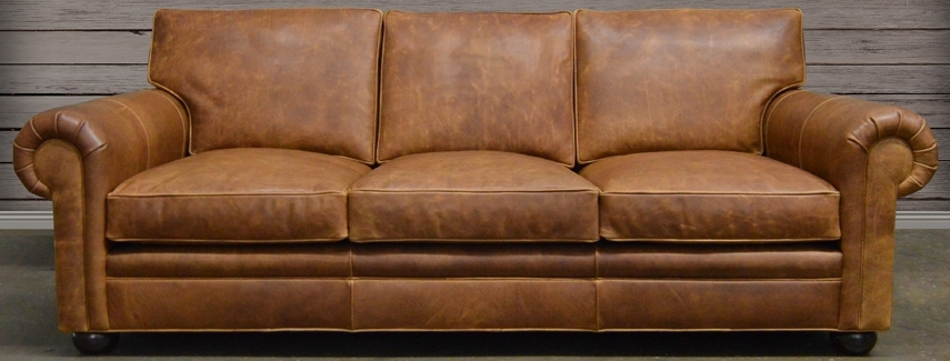 Featured Image of Full Grain Leather Sofas