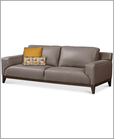Leather Sofa Macys » The Best Option Ticino Leather Sofa Created For With Regard To Macys Leather Sofas (View 5 of 10)