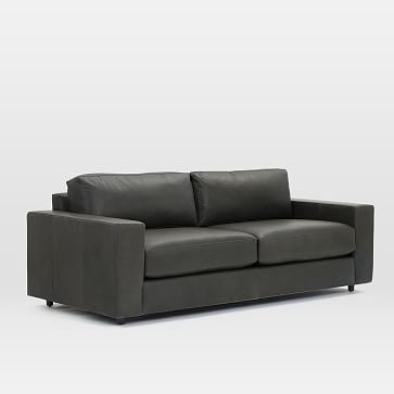 Leather Sofa | West Elm With Aspen Leather Sofas (Image 6 of 10)