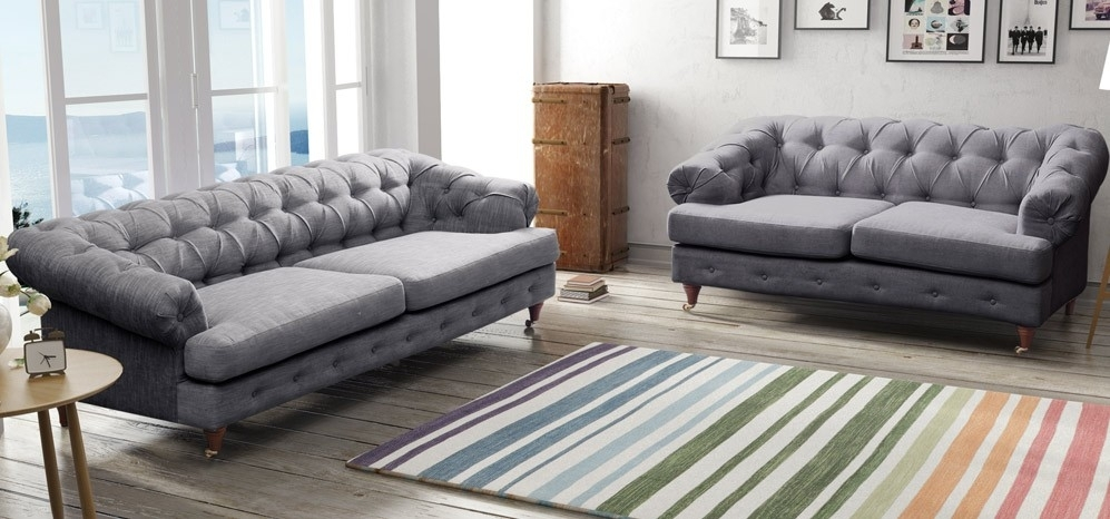 Leather Sofas Corners And Chairs Sofology Pertaining To Grey Sofa Regarding Grey Sofa Chairs (Image 8 of 10)