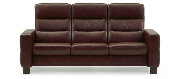 Leather Sofas | Stressless Wave Highback | Modern Recliner Sofas In Sofas With High Backs (Image 7 of 10)