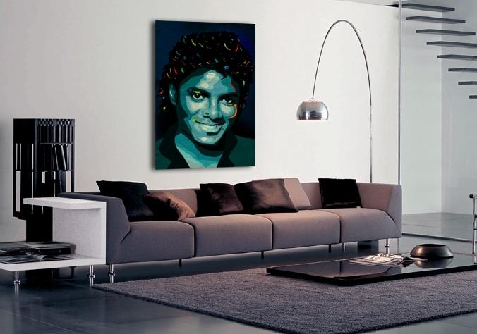 Limited Edition Michael Jackson Canvas Print From Ciaran Monaghan Within Michael Jackson Canvas Wall Art (View 18 of 20)