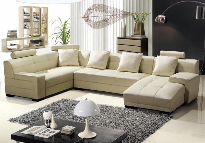 Living Room Design Best U Shaped Sectional Sofas Part I U Shaped Within U Shaped Sectional Sofas (View 8 of 10)