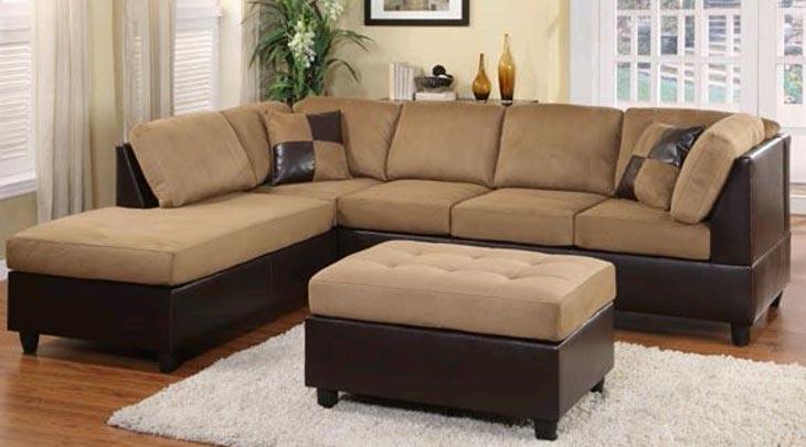 Living Room : Sectional Sofa Gray Sectional Sofa Green Sectional Inside Gatineau Sectional Sofas (Image 6 of 10)