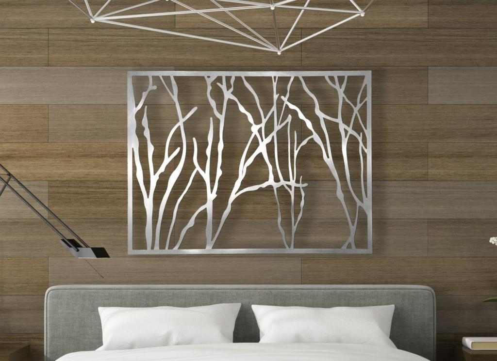 Living Room : Wonderful Large Abstract Metal Wall Art Sculpture Intended For Kingdom Abstract Metal Wall Art (Image 3 of 20)