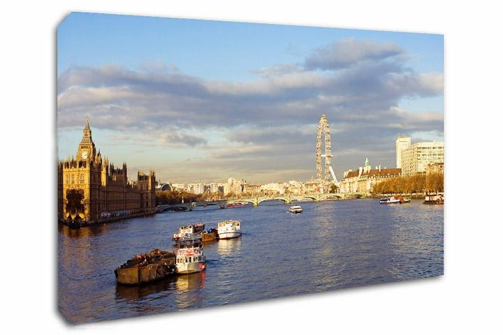 London Canvas Prints – London Canvas Art In Canvas Wall Art Of London (Image 11 of 20)