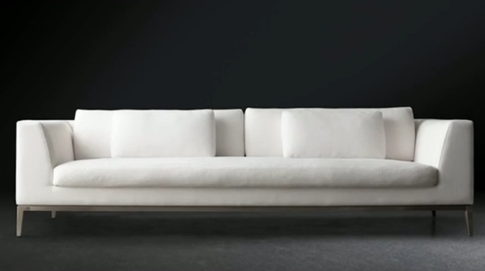 Long Modern Sofa Awesome Long White Sofa 99 About Remodel Sofas And Regarding Long Modern Sofas (Image 9 of 10)