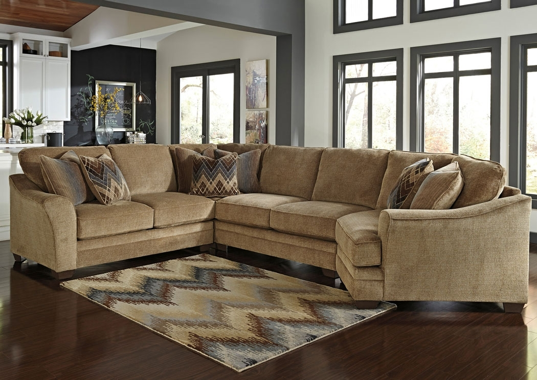 Lonsdale Barley Right Arm Facing Cuddler End Sectional ,benchcraft With Regard To Cuddler Sectional Sofas (Photo 10 of 10)