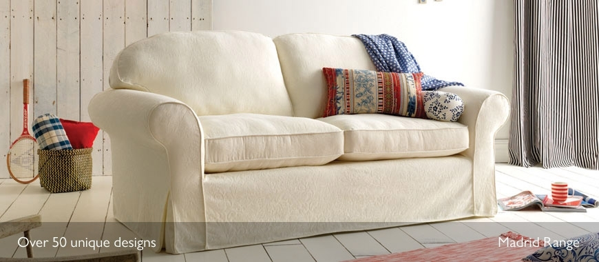 Loose Cover Sofas | Mashine Washable Slipcovers | Sofasofa Within Sofas With Removable Cover (View 3 of 10)