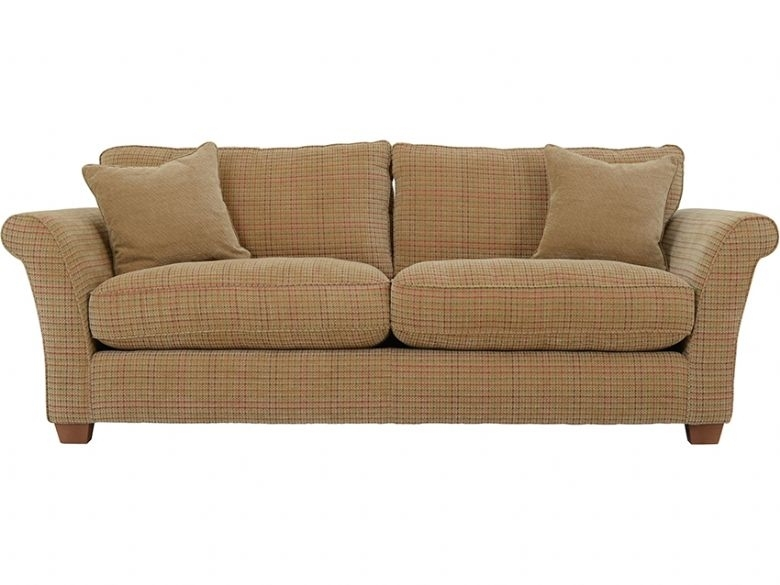 Louisa 4 Seater Casual Fabric Sofa – Lee Longlands In Tweed Fabric Sofas (Image 4 of 10)