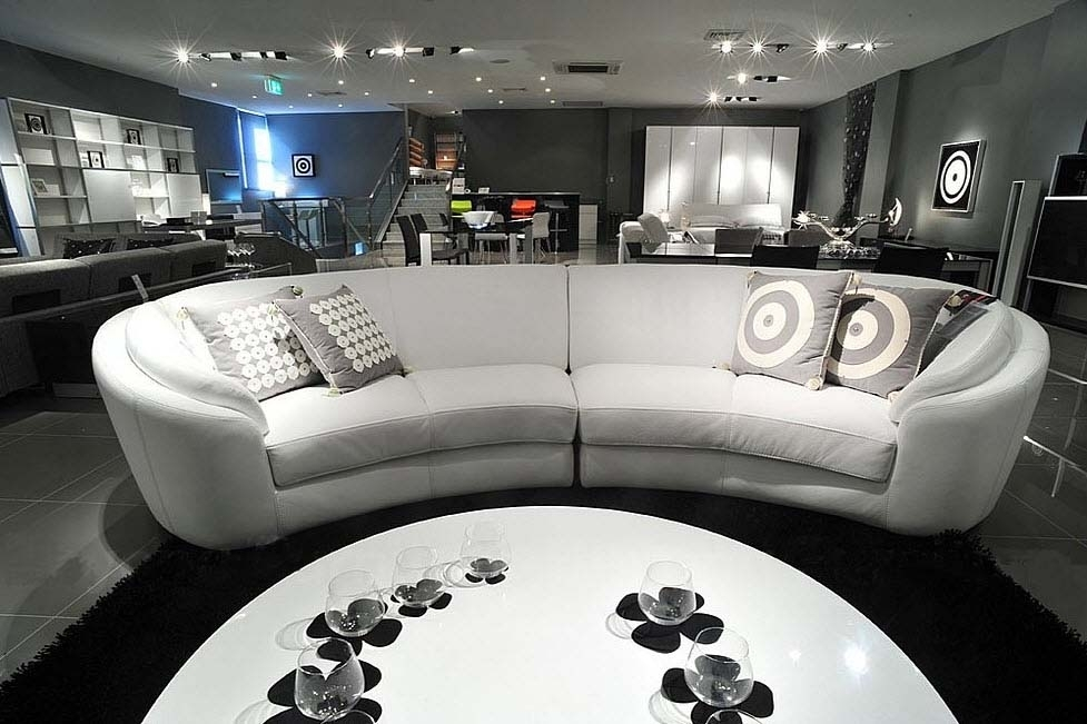 Lounge Furniture For Relaxation | West Avenue Pertaining To Leather Lounge Sofas (Image 4 of 10)