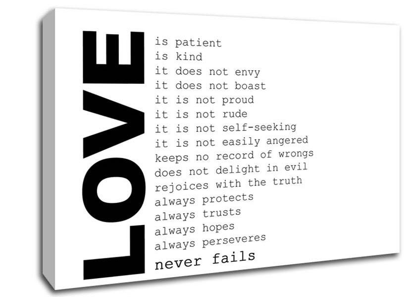 Love Quotes Canvas Art | Wallartdirect.co (Image 13 of 20)