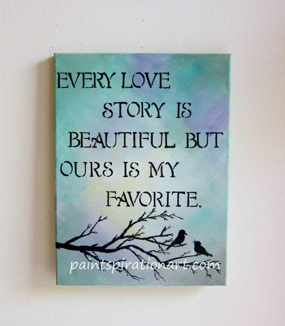 20 Collection of Love Quotes Canvas Wall Art | Wall Art Ideas