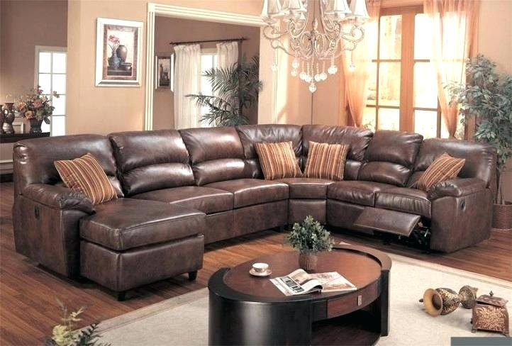 Lovely Sofas With Recliners Sectional Sofa With Chaise Lounge And Throughout Sectional Sofas With Recliners Leather (View 9 of 10)