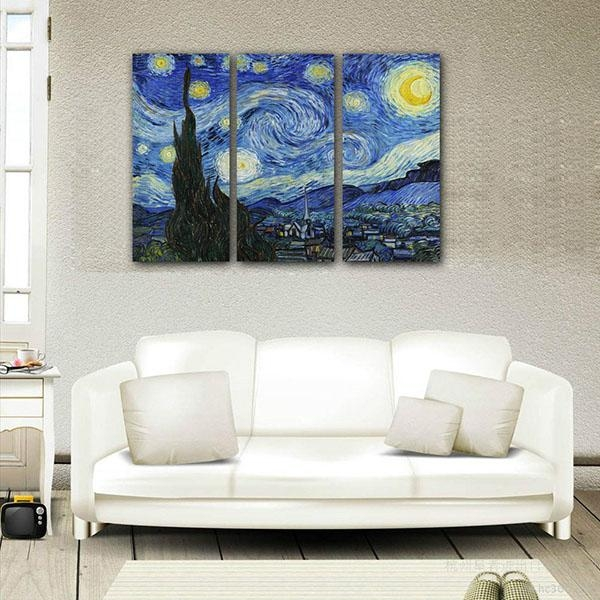 Low Price For Framed Canvas Art Print Starry Sky Wall Art Canvas With Howard Stern Canvas Wall Art (Image 16 of 20)