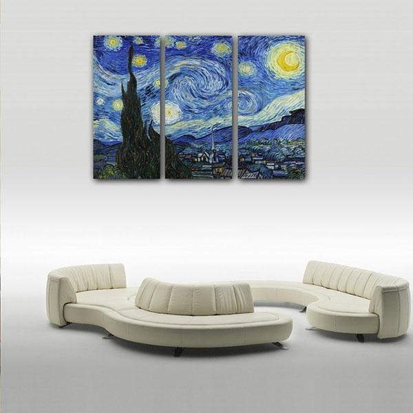 Low Price For Framed Canvas Art Print Starry Sky Wall Art Canvas With Howard Stern Canvas Wall Art (Image 15 of 20)