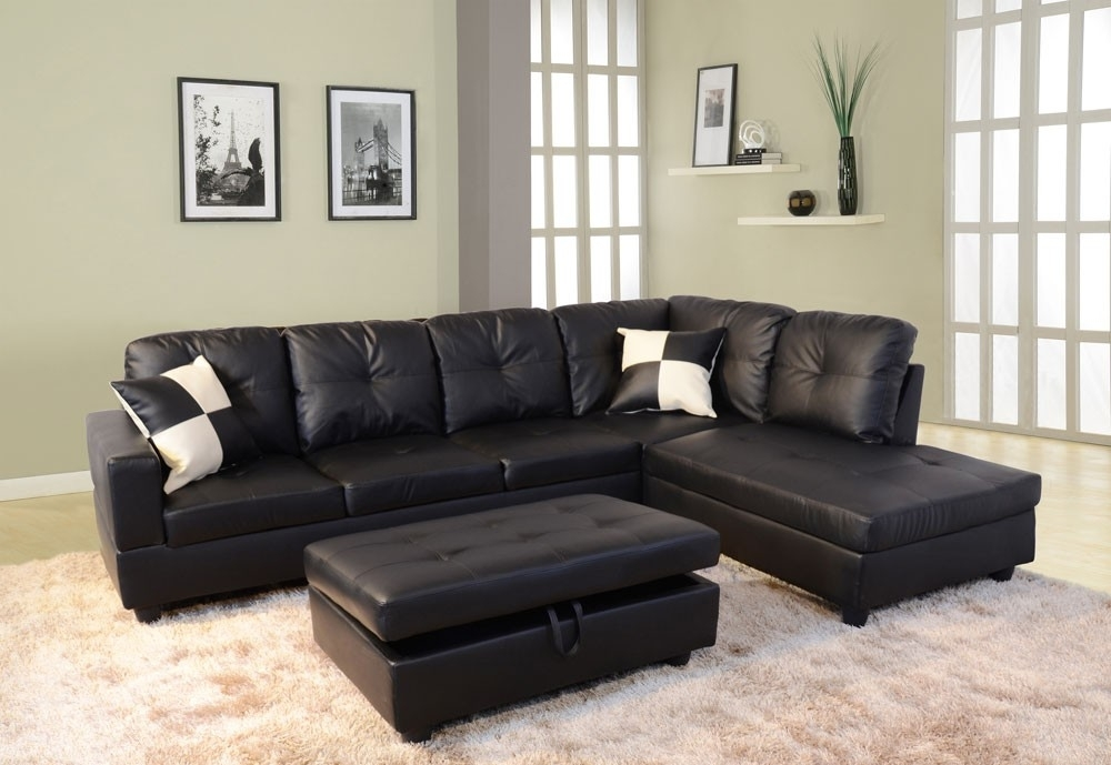 Featured Image of Faux Leather Sectional Sofas