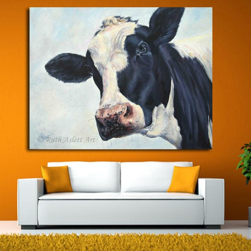 Lowes Cow Painting Promotion Shop For Promotional Lowes Cow Inside Lowes Canvas Wall Art (View 7 of 20)