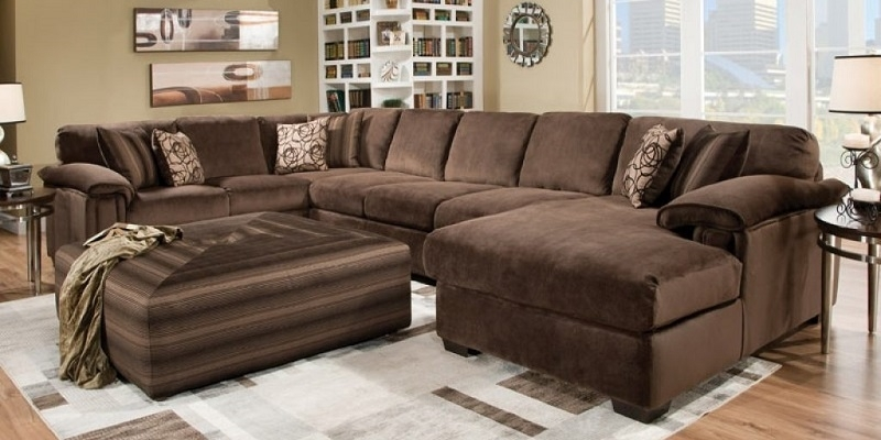 Luxury Extra Large Sectional Sofas With Chaise 77 In Modern Sofa For Extra Large Sofas (Image 6 of 10)