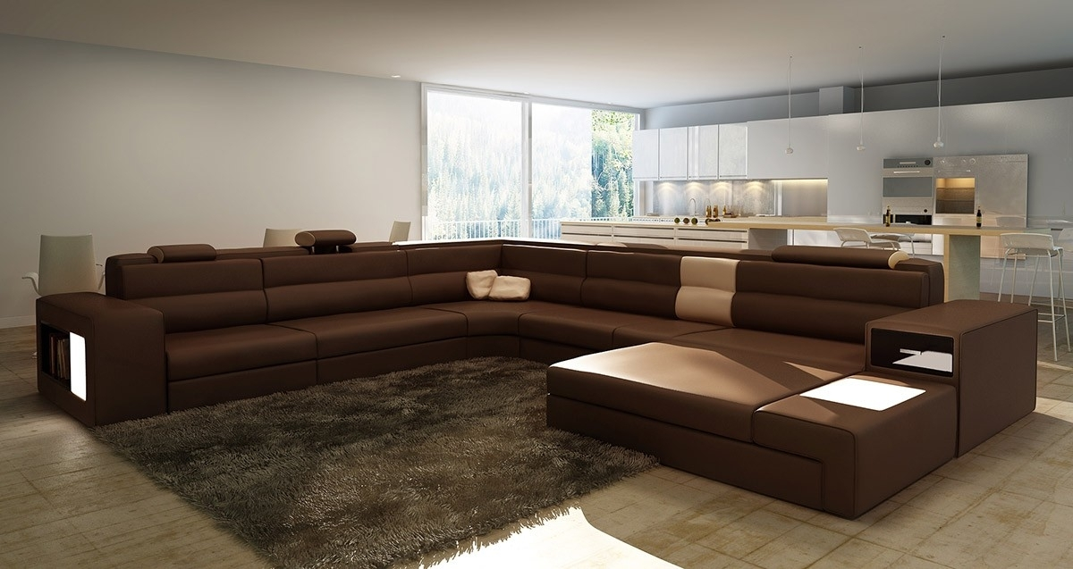 Luxury Long Sectional Sofas 97 Living Room Sofa Ideas With Long In Long Modern Sofas (Photo 9 of 10)