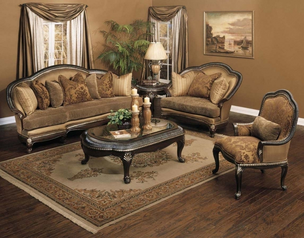 Luxury Traditional Sofa Set Ideas – Intuisiblog Pertaining To Traditional Sofas And Chairs (Image 4 of 10)