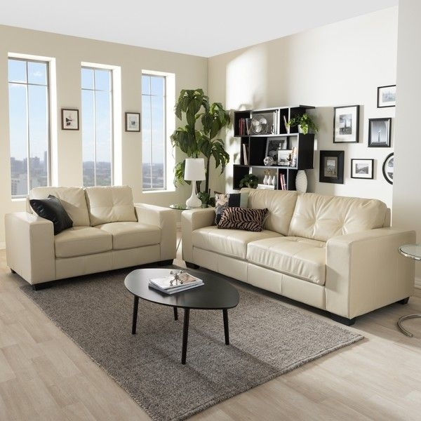 Magnificent Colored Leather Sofas Best Ideas About Faux With Cream With Cream Colored Sofas (Image 9 of 10)