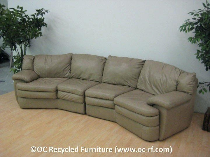Magnificent Used Sectional Sofas For Home Design Amazing Leather With Orange County Ca Sectional Sofas (Image 3 of 10)