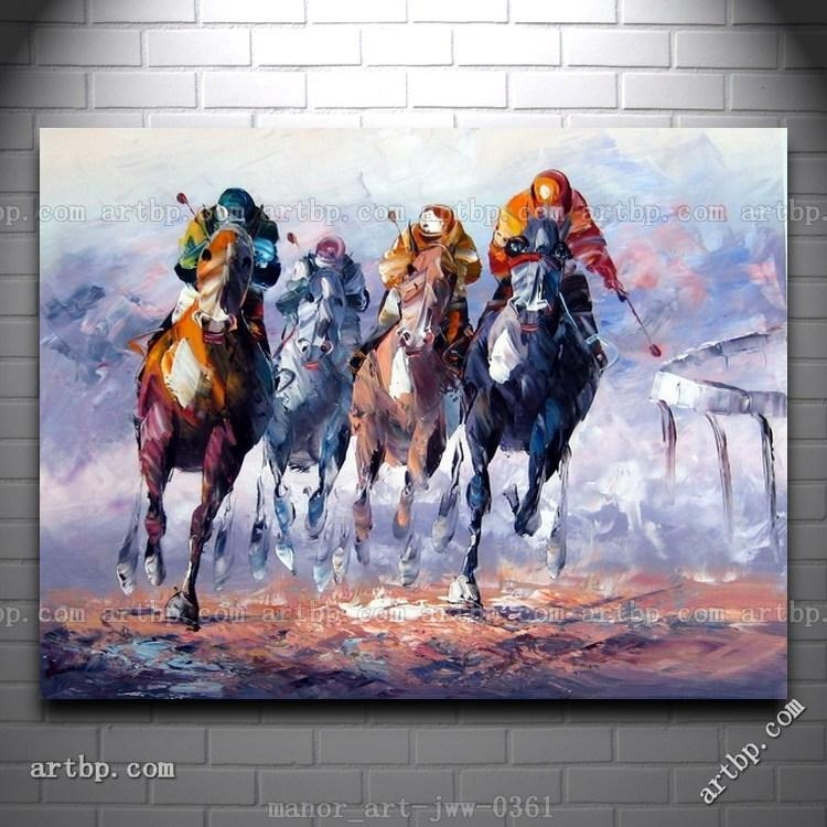Malerei | Decoration | Pinterest | Wand, Polos And Horse Paintings With Abstract Horse Wall Art (View 4 of 20)