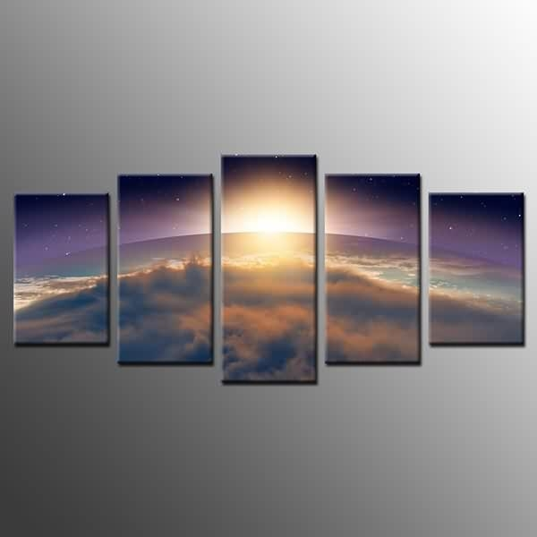 Manufactur Standard Framed Wall Art For Home Decor Sun On Earth With Cape Town Canvas Wall Art (Image 16 of 20)