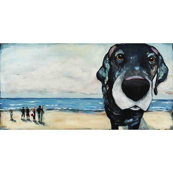Marmont Hill – Macdaddytori Campisi Painting Print On Canvas Within Dogs Canvas Wall Art (Image 15 of 20)