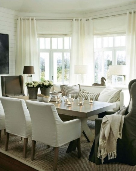 Marvellous Dining Room Table With Sofa Seating Gallery Best Idea With Dining Sofa Chairs (Image 9 of 10)