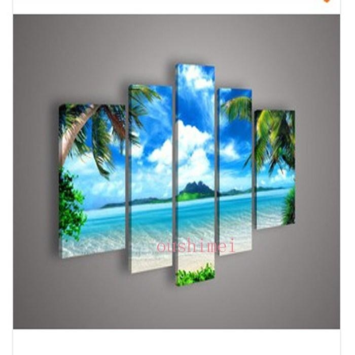 Marvelous Beach Canvas Wall Art Picture Inspirations | Forhouse Inside Beach Canvas Wall Art (View 11 of 20)